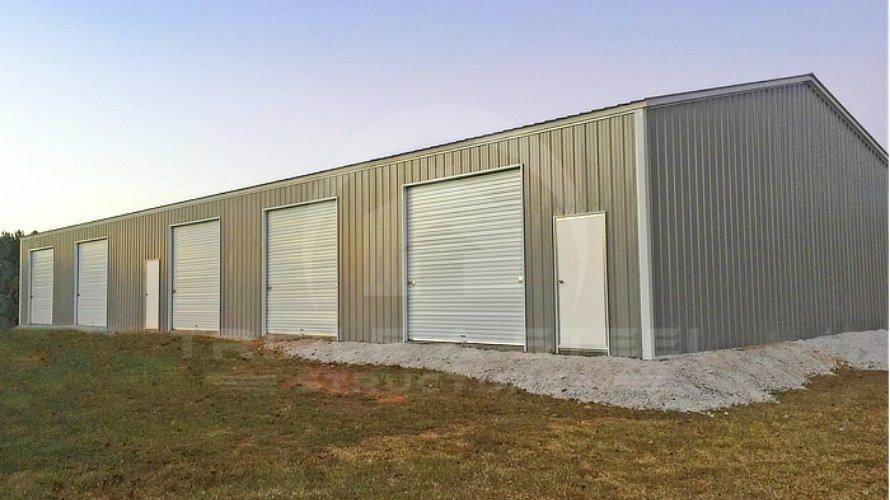 Fully Vertical Garage Used As Workshop