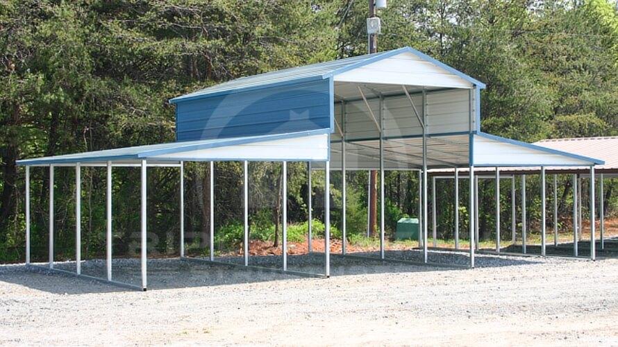 Carolina Barn Structure On Lot