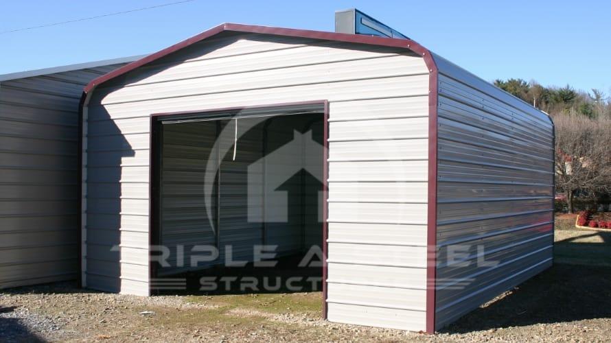 20×21 Regular Metal Garage