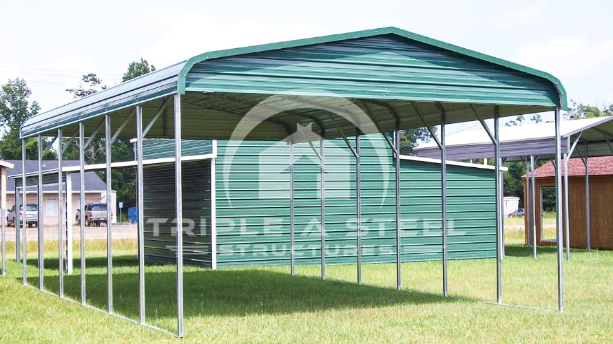 20×31 Regular Style Carport Top Only with Gables