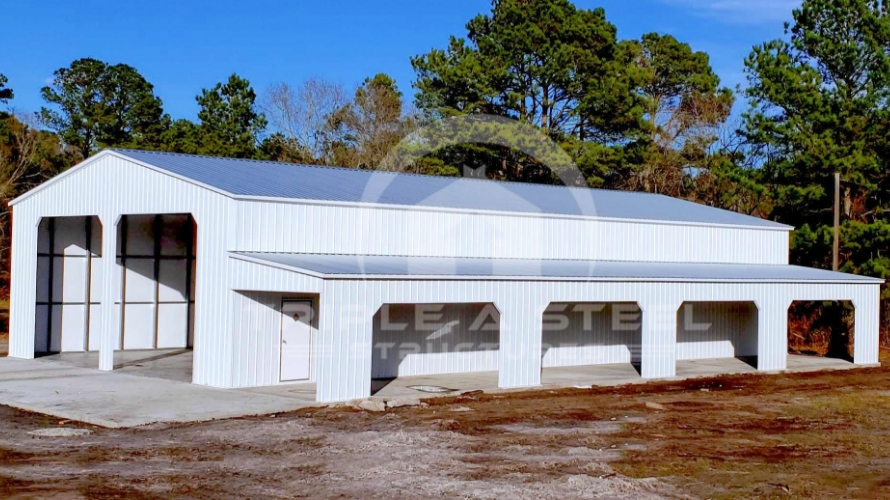 30x61x13 Fully Vertical Carolina Barn