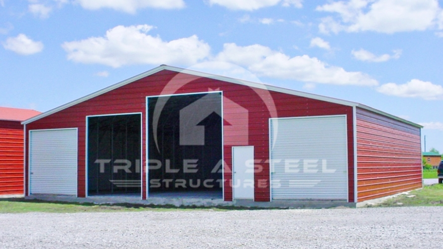 54×41 Seneca Barn Vertical Style and Fully Enclosed All Around
