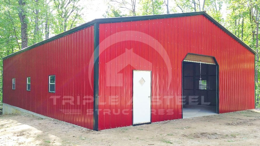 32×61 Fully Enclosed Commercial Building